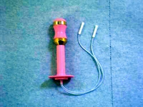 Figura 7. Esempio di sonda vaginale impiegata per l'utilizzo del biofeedback elettromiografico e somministrazione di stimolazione elettrica a scopo antalgico (Tens)